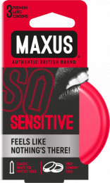 ПРЕЗЕРВАТИВЫ MAXUS SENSITIVE В Ж/К 3 ШТ