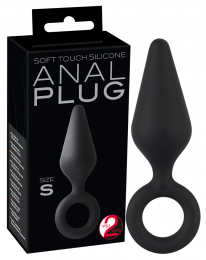 ВТУЛКА ANAL PLUG SOFT TOUCH SILICONE S
